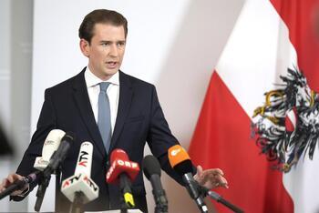 Sebastian Kurz dimite como canciller de Austria