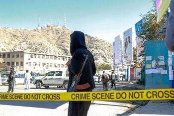 Al menos 4 muertos en un tiroteo entre talibanes y yihadistas