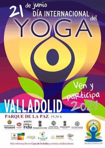 La ciudad celebra este lunes el Día Internacional del Yoga