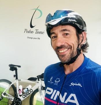 Pedro Tomé vuelve a la distancia Ironman dos años después