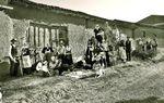 VILLALCÓN: En Villalcón rememoran la faena de la siega al más puro estilo tradicional y, sobre todo, la satisfacción del descanso tras una dura jornada en el campo.