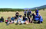 PORQUERA DE SANTULLÁN: Los vecinos de Porquera pasan un día agradable recordando el trabajo de pastoreo que realizaban sus antepasados, cuando las mujeres llevaban el almuerzo a sus maridos al campo.