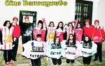 PAREDES DE NAVA: Este grupo de jóvenes paredeños rinde tributo a la memoria del Cine Berruguete, que hace años dejó su actividad. No falta la taquilla, tampoco los acomodadores ni las entradas. ¡Ah, y palomitas y refrescos!. foto:dp