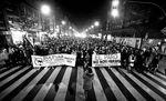 Manifestación contra el bulevar de Gamonal