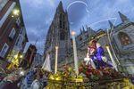 Procesión de la exaltación del Cristo de Burgos