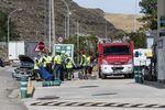 El choque de un camión y un turismo en el km 278 de la N-1 en Briviesca dejó otro fallecido en la polémica vía