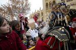 Los Reyes Magos recibieron una multitudinaria bienvenida