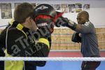 El delantero francés del Albacete se pasa al boxeo.