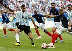 Round of 16 France vs Argentina