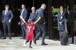 Portuguese national soccer team departs to Russia