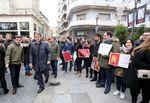 Acto de homenaje de NNGG de Valladolid a la Constitución