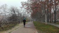 Niebla en Valladolid