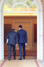 El presidente de la Junta se reúne con el presidente del Gobierno