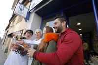 Primer premio de la lotería de Navidad en El Barraco