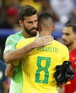 Quarter Final Brazil vs Belgium