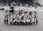 Burgos CF 0, Real Sporting 2. Dos goles del Brujo con el estadio lleno a rebosar.