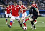 Quarter Final Russia vs Croatia