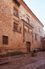 Casa Palacio de los Contreras de Ayllón (s. XV).
