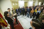 inaguración del Muséo Elisa Cendrero a cargo de Pilar Zamora y Jose Manuel Caballero. fotos del museo elisa cendrero inaguración y vistas genericas