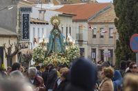 las paces de Villarta,cohetes,fiesta de las paces, Villarta de San Juan, Nuestra Señora de la Paz,virgen de la paz