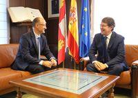 Reunión de los presidentes de la Junta y de las Cortes