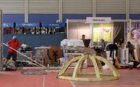 Preparativos de la 85 Feria Internacional de Muestras de Valladolid