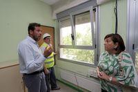 El alcalde de Valladolid visita el Colegio Público Pablo Picasso