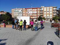 Un mural para recuperar el centro de especialidades Delicias.
