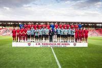 Presentación del Club Deportivo Numancia. Temporada 19/20