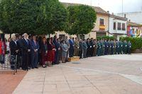 Acto de homenaje a la bandera en Casasimarro