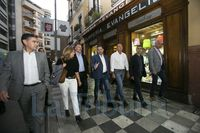 JOSÉ LUIS ABALOS INTERVIENE EN UN ACTO DEL PSOE CONQUENSE