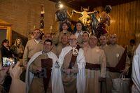 En El Calvario, viernes santo