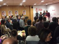 Así fue el cierre de campaña de los partidos en Valladolid: PSOE.
