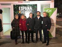 Así fue el cierre de campaña de los partidos en Valladolid: Vox.