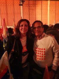 Ciudadanos Valladolid se sumó al cierre de campaña del partido en Barcelona.