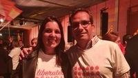 Soraya Mayo y el delegado territorial de la Junta, Augusto Cobos.