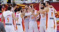 España celebra su victoria en el Mundial