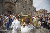 Corpus Christi, misa y procesión.