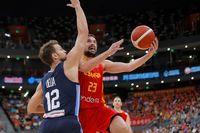 Amistoso España-Argentina en Ningbó previo al Mundial China 2019