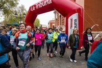 Carrera de la Mujer, carrera de la mujer de 4 Klm por el centro de ciudad real,m Pilar Zamora y rosa Romero en la carrera
