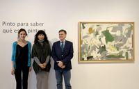 Exposición 'Esteban Vicente. Siento, luego pinto', en el Museo Patio Herreriano