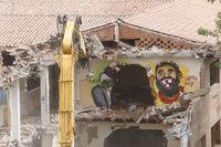 Demolición del IES Santa Teresa