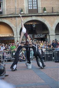 Circo. En el mercado chico, Excentriques