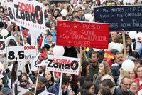 'La Revuelta de la España Vaciada', en Madrid. 31 de marzo