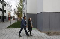 Visita de Pedro Sánchez al barrio de Pajarillos