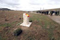Presentación de la reforestación de Iberdrola en la base de 'El empecinado'