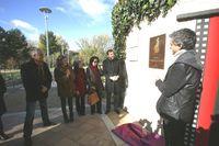 Inauguración del parque Tomás Rodríguez Bolaños