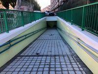 Reapertura del túnel peatonal de San Isidro