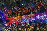Celebraciones de la selección española de baloncesto