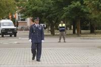 Toma de posesión de nuevo coronel jefe de la base de Villanubla
